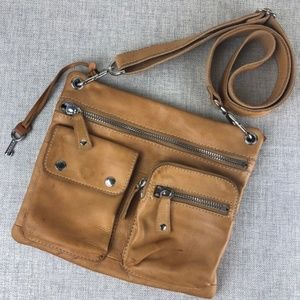 Fossil Crossbody Sutter Leather Bag purse